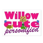 Cute Willow Postcards (Package of 8)