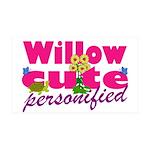 Cute Willow 38.5 x 24.5 Wall Peel