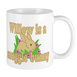 Willow is a Snuggle Bunny Mug