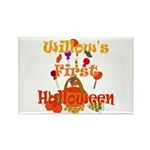First Halloween Willow Rectangle Magnet