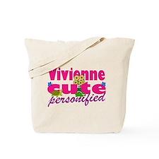 Cute Vivienne Tote Bag
