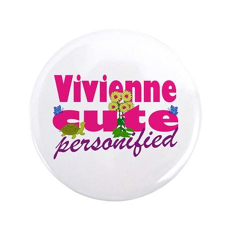 """Cute Vivienne 3.5"""" Button"""