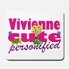 Cute Vivienne Mousepad