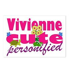 Cute Vivienne Postcards (Package of 8)