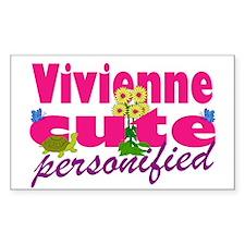 Cute Vivienne Decal