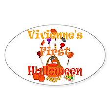 First Halloween Vivienne Decal