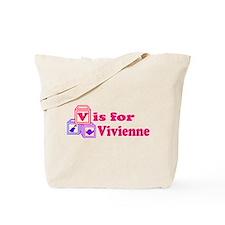 Baby Blocks Vivienne Tote Bag