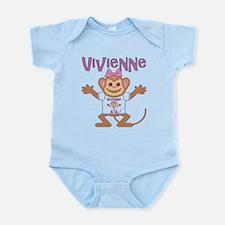 Little Monkey Vivienne Infant Bodysuit