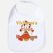 Vivienne's First Halloween Bib