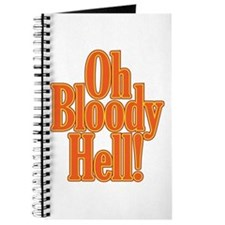Oh Bloody Hell! Journal