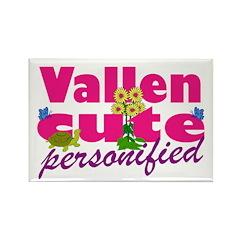 Cute Vallen Rectangle Magnet (100 pack)