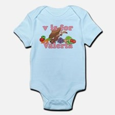 V is for Valeria Infant Bodysuit