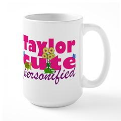 Cute Taylor Large Mug