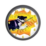 Flyball's Such A Blast! Wall Clock