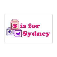 Baby Blocks Sydney 22x14 Wall Peel