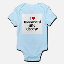 I * Macaroni And Cheese Infant Creeper