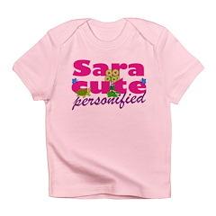Cute Sara Infant T-Shirt