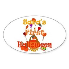 First Halloween Sara Decal