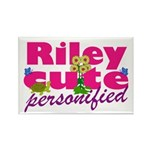 Cute Riley Rectangle Magnet (100 pack)