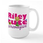 Cute Riley Large Mug