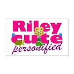 Cute Riley 22x14 Wall Peel
