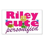 Cute Riley Sticker (Rectangle 50 pk)