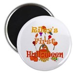 First Halloween Riley Magnet