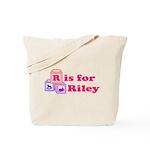 Baby Blocks Riley Tote Bag
