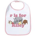 R is for Riley Bib
