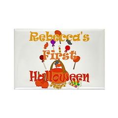 First Halloween Rebecca Rectangle Magnet