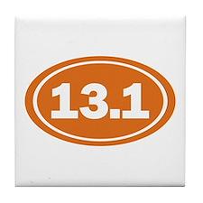 13.1 burnt orange Tile Coaster
