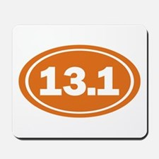 13.1 burnt orange Mousepad