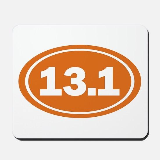 13.1 burnt orange Mousepad