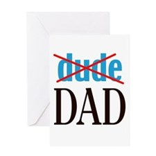 dude/DAD Greeting Card