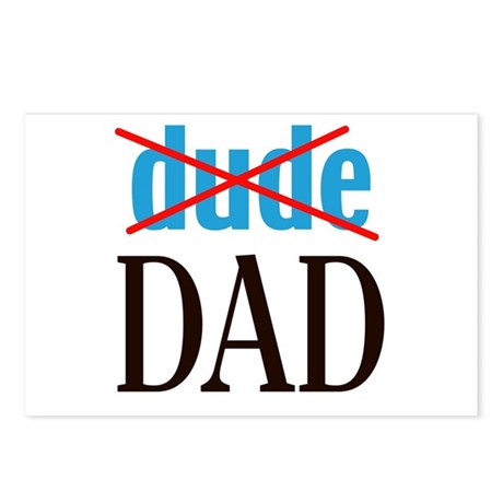 dude/DAD Postcards (Package of 8)