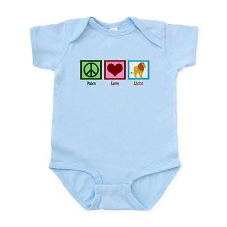 Peace Love Lions Infant Bodysuit