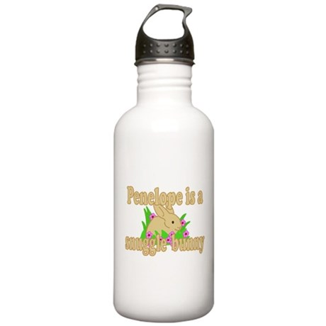 Penelope is a Snuggle Bunny Stainless Water Bottle