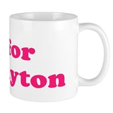Baby Blocks Payton Mug
