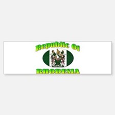 Republic of Rhodesia Sticker (Bumper)
