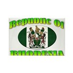 Republic of Rhodesia Rectangle Magnet (100 pack)