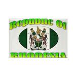 Republic of Rhodesia Rectangle Magnet