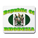 Republic of Rhodesia Mousepad