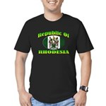 Republic of Rhodesia Men's Fitted T-Shirt (dark)