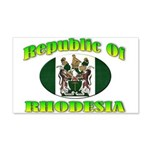 Republic of Rhodesia 20x12 Wall Decal