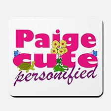 Cute Paige Mousepad