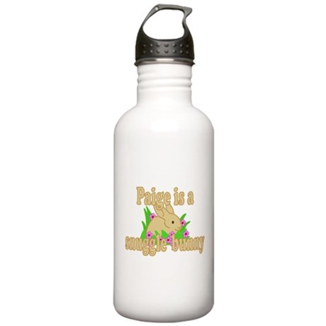 Paige is a Snuggle Bunny Stainless Water Bottle 1.