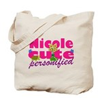 Cute Nicole Tote Bag