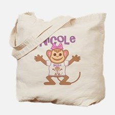 Little Monkey Nicole Tote Bag