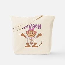 Little Monkey Nevaeh Tote Bag
