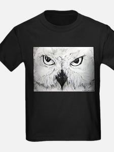 Owl, Black & White, T